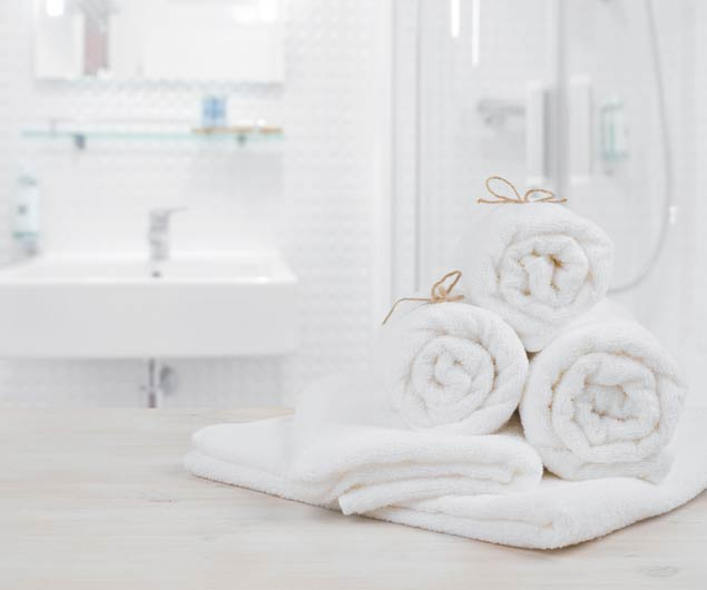 Clean Towels Household Fabrics Dry Cleaning Naples Florida - Platinum Dry Cleaners
