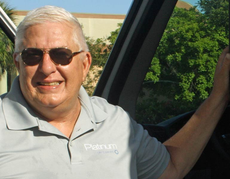 David Valet Driver Southern Lee County | Platinum Dry Cleaners