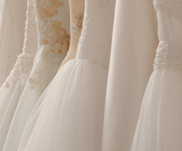 Delicate Lace Wedding Gowns Preservation and Restoration Naples Florida | Platinum Dry Cleaners