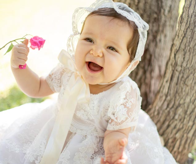 Memorable Heirlooms Baby Gowns Restoration Naples Florida | Platinum Dry Cleaners