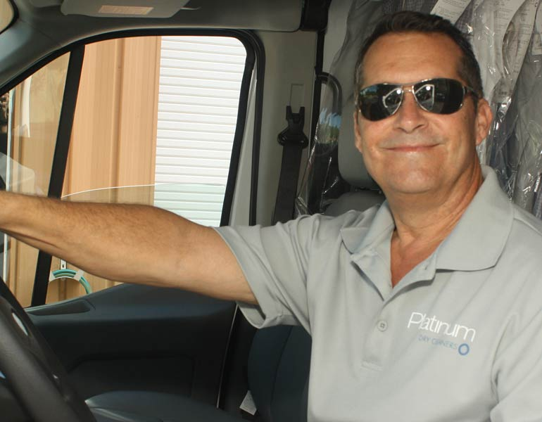 Sam Valet Driver Northern Inland Central Coastal Collier County | Platinum Dry Cleaners