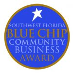 Southwest Florida Blue Chip Community Business Award | Platinum Dry Cleaners